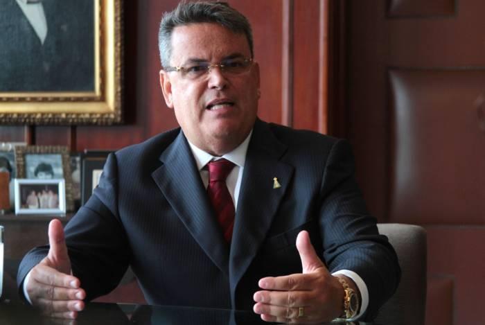 Rio de Janeiro 07/02/2019 - EXCLUSIVA. Presidente do Tribunal de Justica.Na foto: Claudio Mello Tavares.Foto: Fernanda Dias / Agencia O Dia.