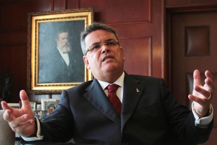 O presidente do Tribunal de Justiça, Claudio Mello Tavares