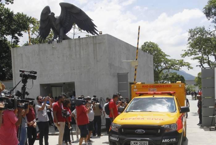 Tragédia aconteceu na última sexta-feira no CT do Flamengo, em Vargem Grande