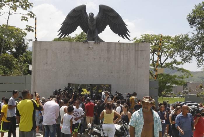 Tragédia aconteceu no CT do Flamengo, em Vargem Grande