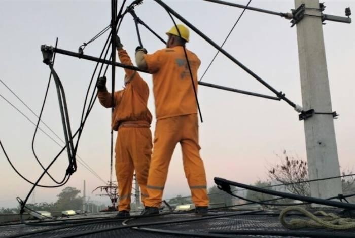 Furto de cabos no estado interrompe serviços essenciais, como transporte e telecomunicação