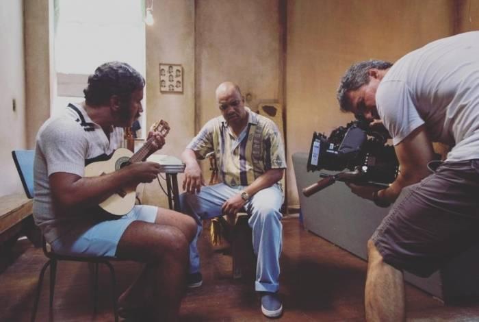 Bastidores das gravações de 'Paulinho Gogó - O Filme'
