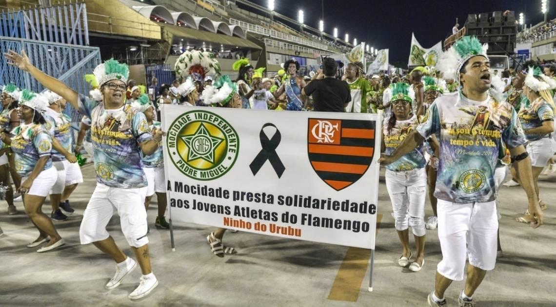 Ensaio Técnico da Mocidade Independente de Padre Miguel no Sambódromo, Rio de Janeiro