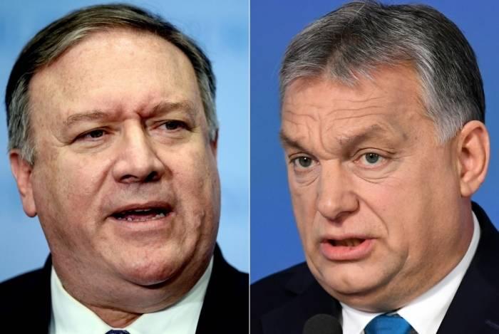 Mike Pompeo viajou até a Hungria para tentar dissuadir o primeiro-ministro Viktor Orban de se aproximar demais da Rússia