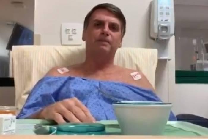 Jair Bolsonaro recebeu alta da unidade semi-intensiva