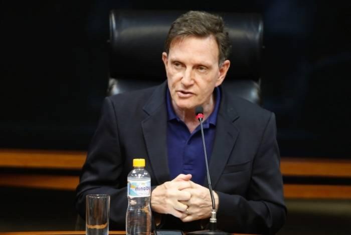 O prefeito do Rio, Marcelo Crivella, do PRB