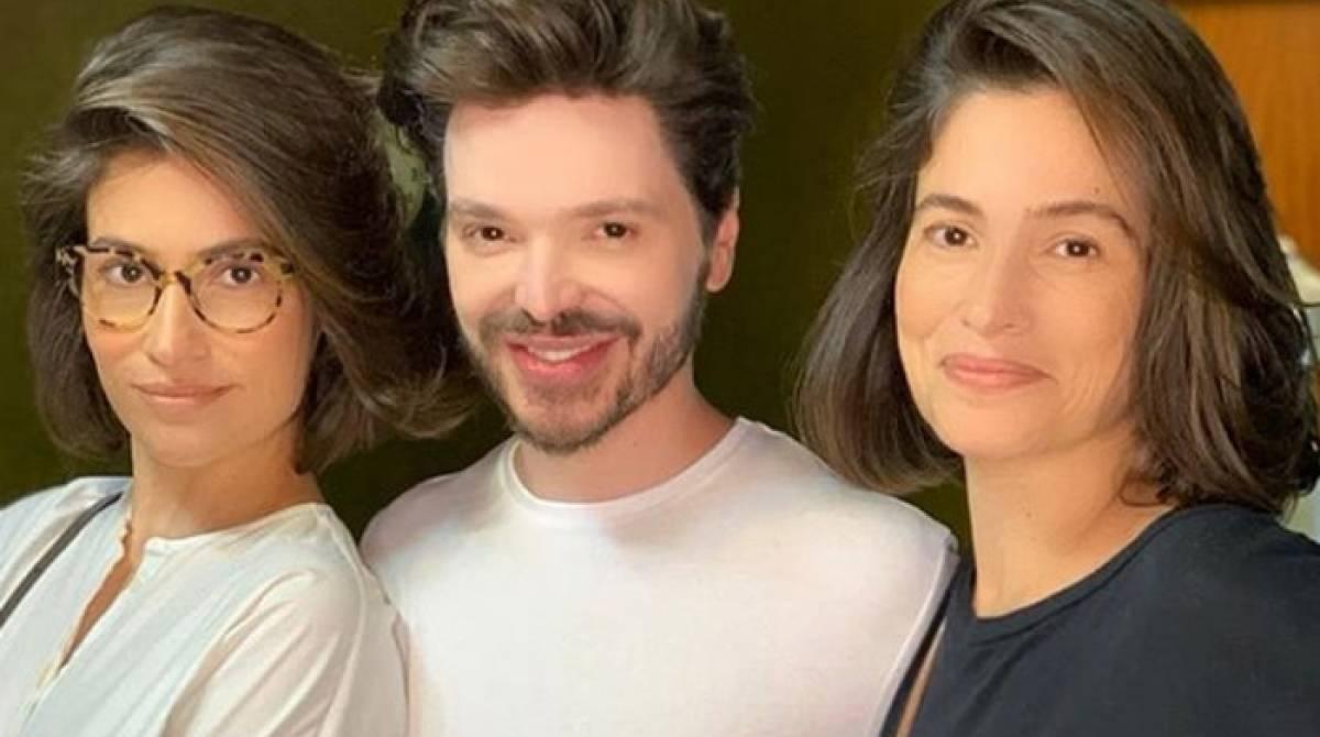 Renata Vasconcellos, Tiago Parente e Lanza Mazza