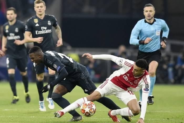 Real Madrid venceu o Ajax por 2 a 1