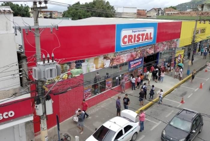 As promoções do supermercado Cristal são só neste sábado. É bom correr para aproveitar os preços