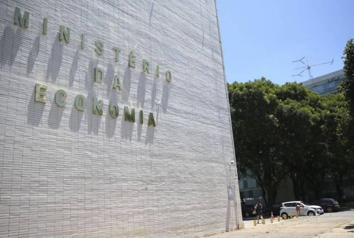 Fachada do super Ministério da Economia em Brasília, para onde os recursos foram realocados