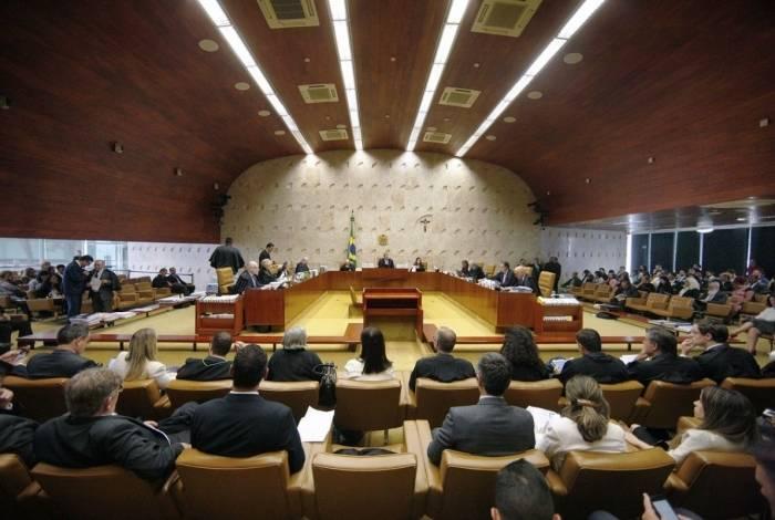 Supremo Tribunal Federal (STF) realiza sessão plenária para o julgamento de processos sobre criminalização da homofobia
