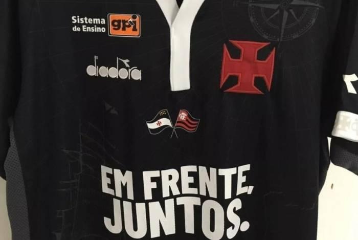 Camisa do Vasco faz homenagem