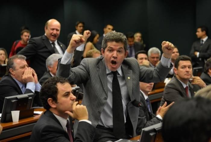 Líder do PSL na Câmara, Delegado Waldir