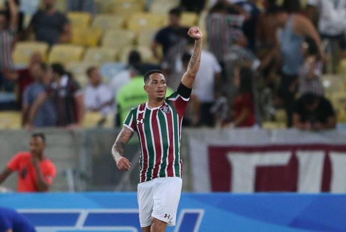 Luciano fez o gol da vitória