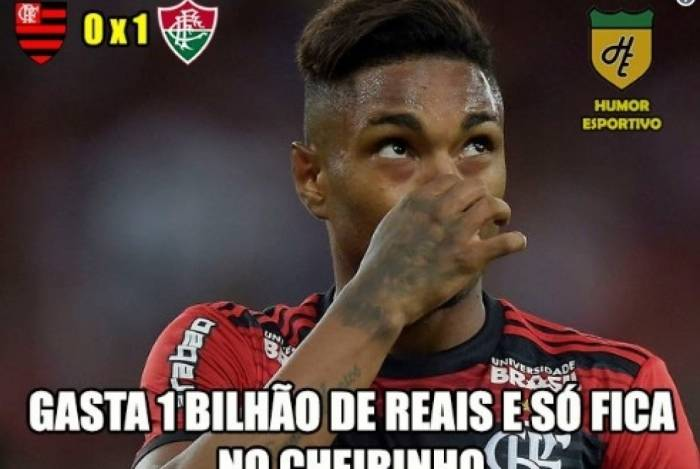 Fluminense derrotou o Flamengo