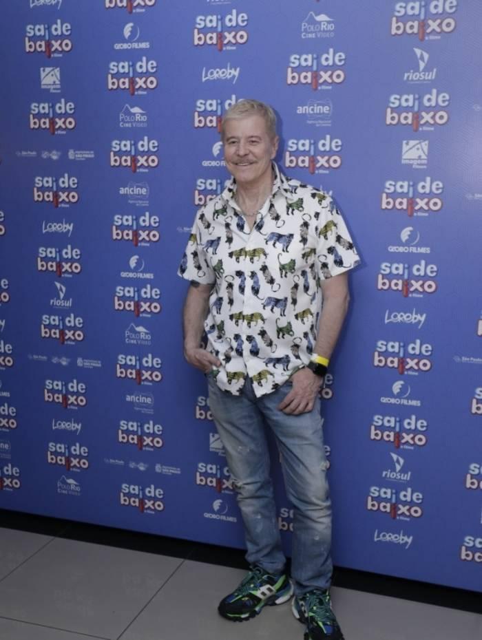 Miguel Falabella na pré-estreia do filme 'Sai de Baixo'
