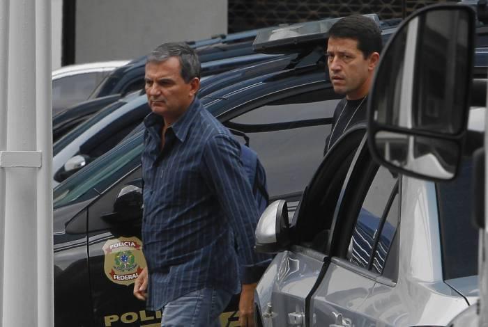 Régis Fichtner foi preso em casa, na Barra da Tijuca