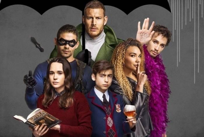 Atores da série 'The Umbrella Academy', da Netflix