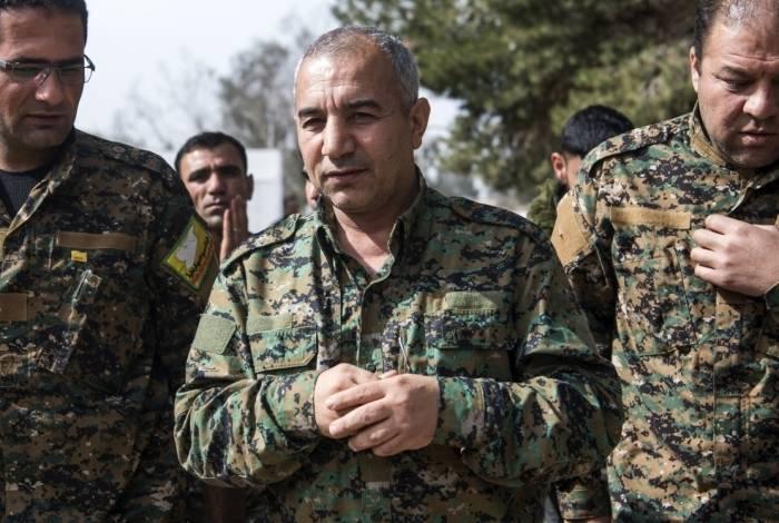 Forças Democráticas Sírias apoiadas pelos Estados Unidos