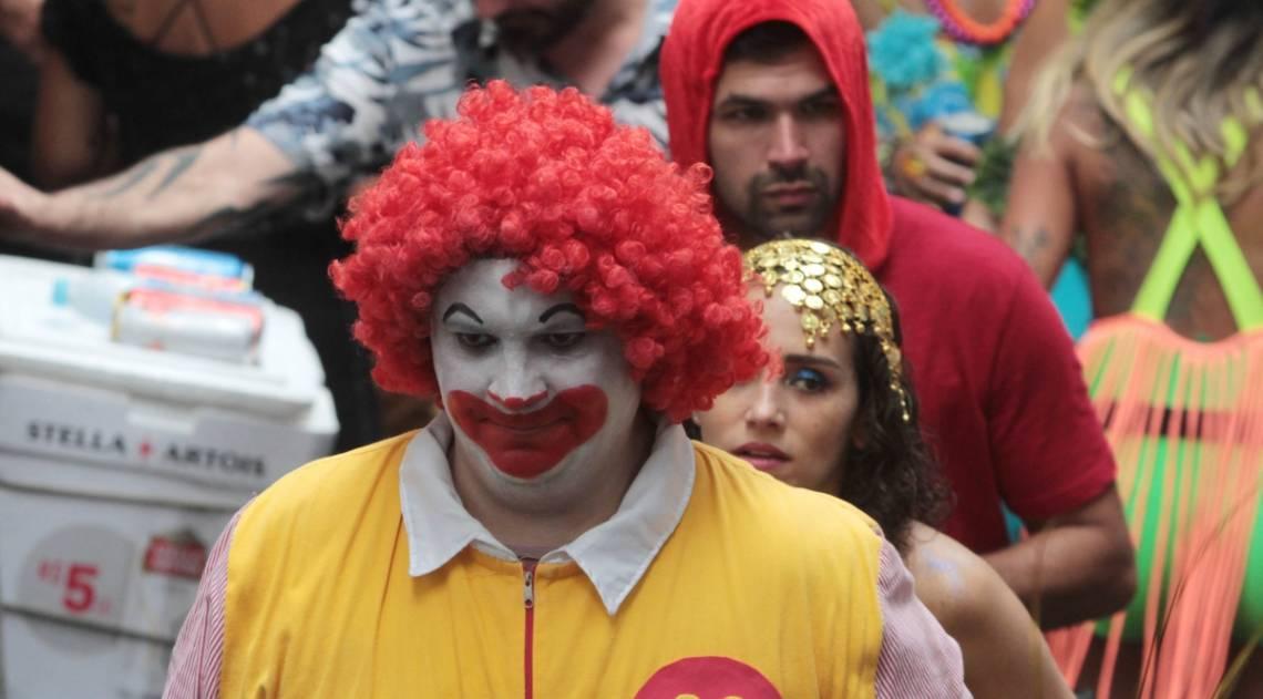 Rio de Janeiro 17/02/2019 - Bloco de Carnaval Volta Alice em Laranjeiras.Foto: Fernanda Dias / Agencia O Dia.