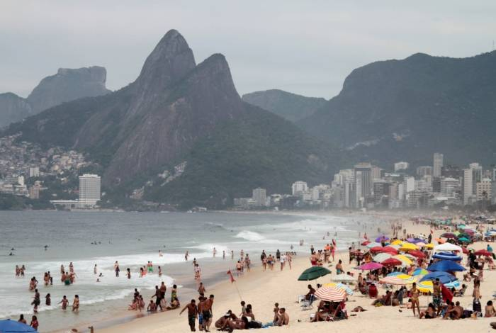 Rio de Janeiro 17/02/2019 - Praia do Arpoador, Zona Sul do Rio.Foto: Fernanda Dias / Agencia O Dia.