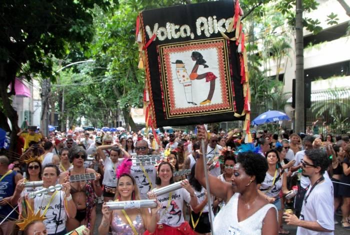 Foliões do Volta Alice saíram às ruas