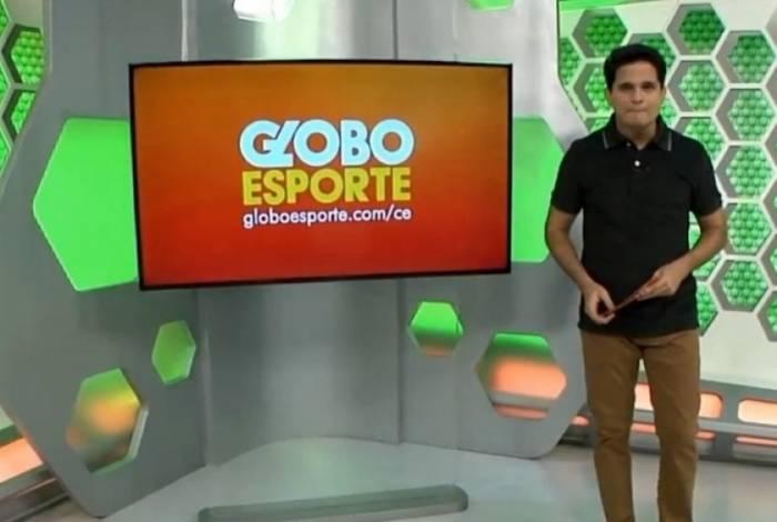 Kaio Cézar pediu demissão ao vivo do 'Globo Esporte' do Ceará