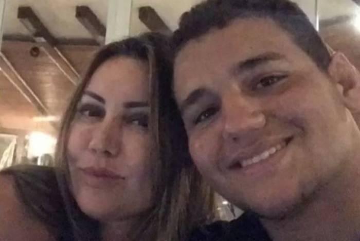 Rayron Gracie é filho de Elaine Caparroz, espancada dentro de casa na Barra
