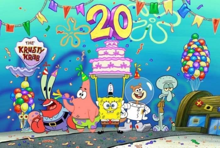 Nickelodeon lança episódios inéditos de Bob Esponja para celebrar 20 anos do desenho