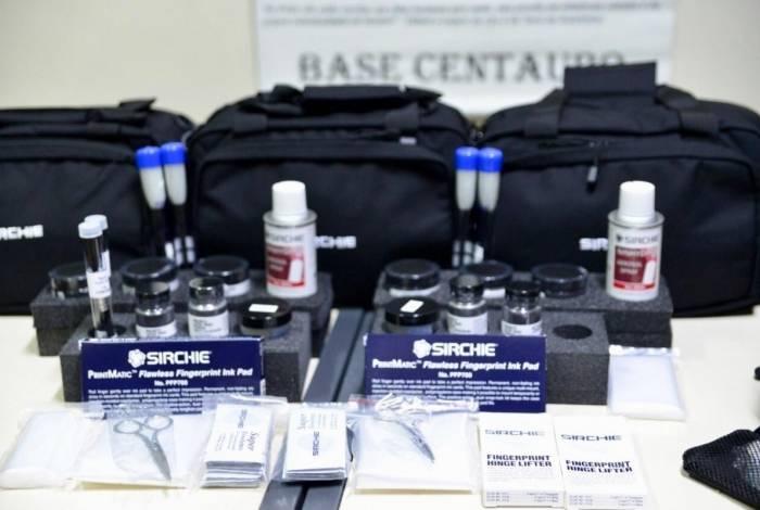 Perícia da Polícia Civil recebeu materiais e scanner
