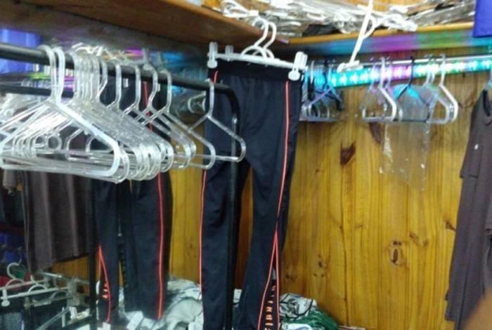 Operação no Camelódromo apreendeu 700 kg de mercadoria