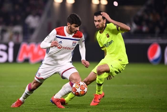 Barcelona e Lyon empataram