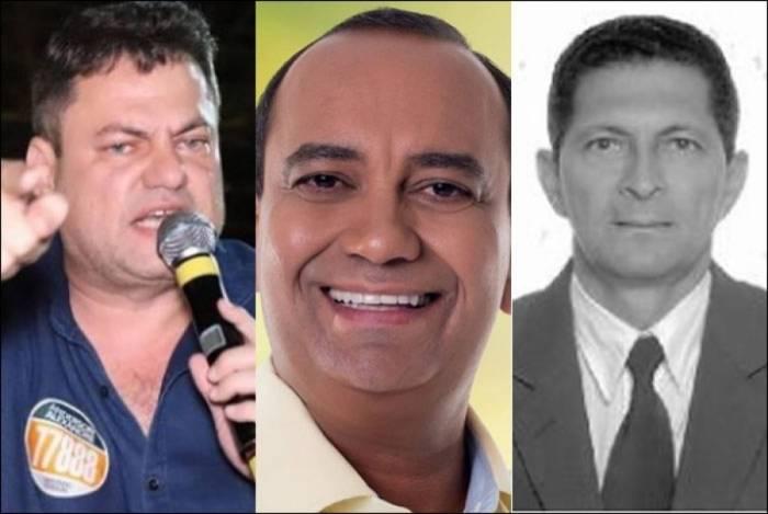 Ex-prefeitos Anderson Alexandre, Max Lemos e Amaro Fernandes dos Santos são alvos de ações do Ministério Público do Rio