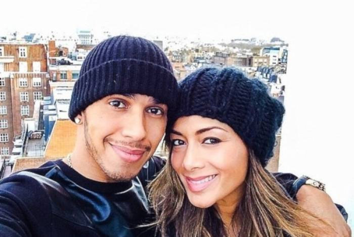 Lewis Hamilton e a ex-namorada, Nicole Scherzinger