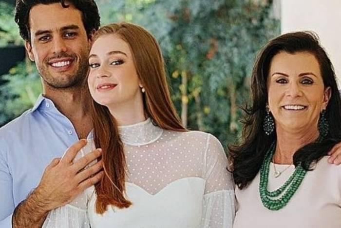 Marina Ruy Barbosa recebe apoio da sua sogra