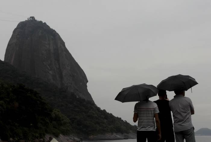 Chuva vai aparecer em momentos isolados