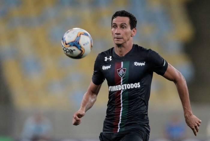 Ganso estreou com a camisa do Fluminense