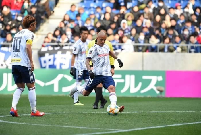 Marcos Júnior teve boa estreia no Japão