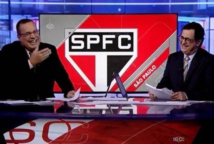 Paulo Soares não se aguenta e tem crise de riso durante o