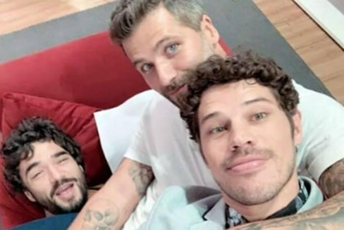 Caio Blat, Bruno Gagliasso e José Loreto