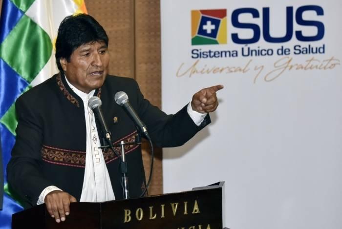 Evo Morales renunciou cargo de presidente da Bolívia neste domingo