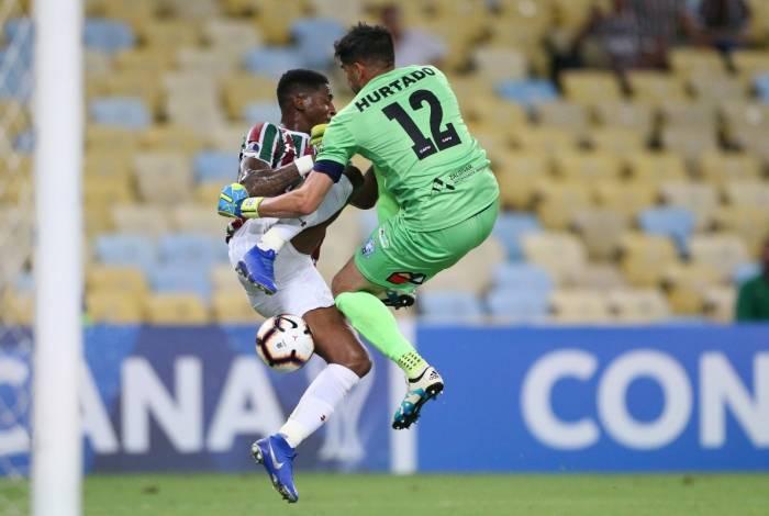 Fluminense empatou no Rio