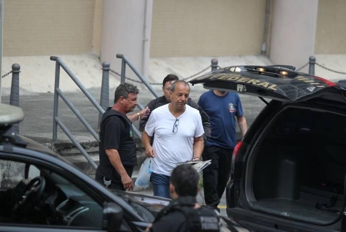 Sérgio Cabral na Polícia Federal: ex-governador não encontrará Pezão