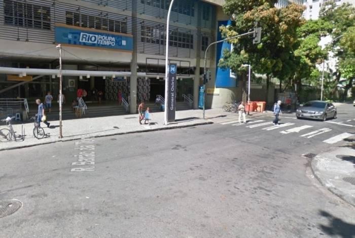 Rua Barão da Torre com Teixeira de Melo, perto de acesso ao Morro do Cantagalo e onde ocorreu tiroteio que causou pânico em Ipanema