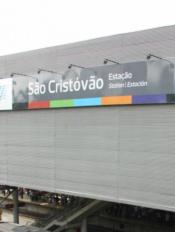 Estação de São Cristóvão da SuperVia