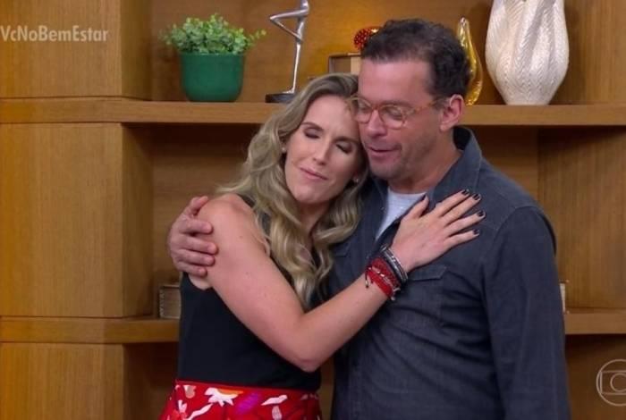 Mariana Ferrão e Fernando Rocha na apresentação do 'Bem Estar'