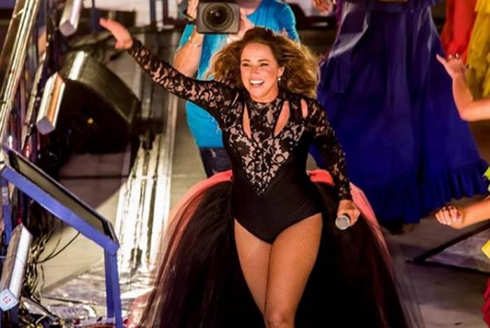 Daniela Mercury na abertura oficial do Carnaval de Salvador