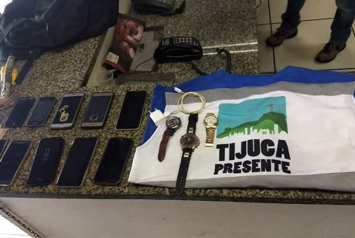 Operação Tijuca Presente prende três suspeitos de roubar pacientes em consultório dentário na rua Conde de Bonfim
