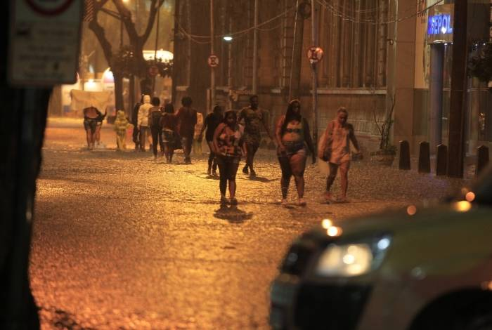 Forte chuva na cidade do Rio de Janeiro, nesta sexta-feira (01)