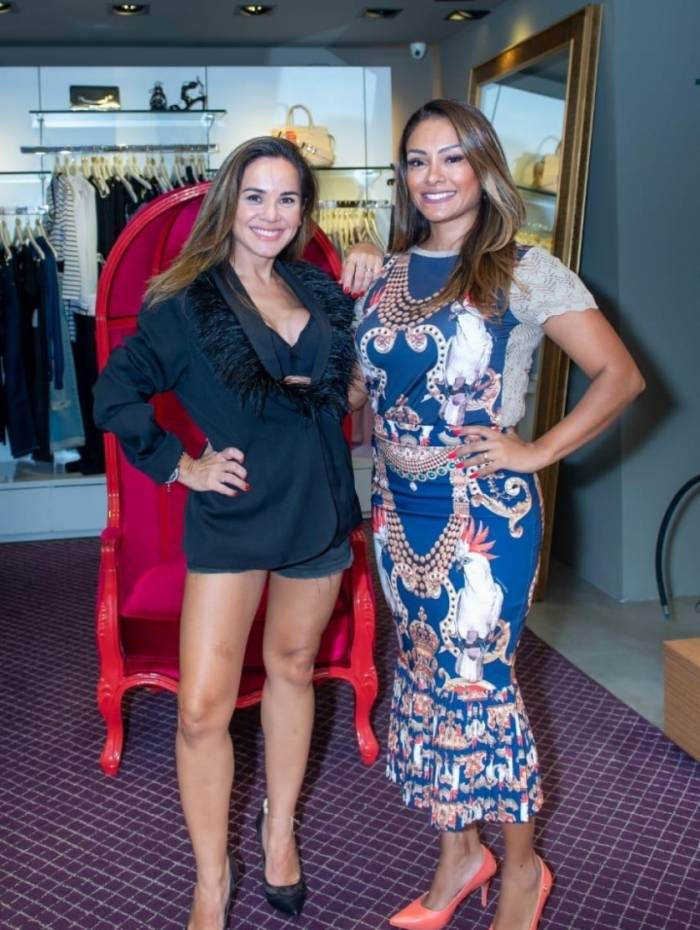 Hélide Pires e Isabele Benito